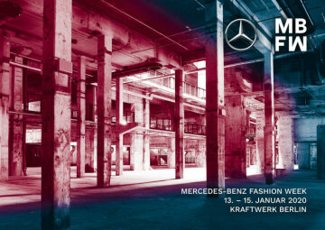 Mercedes-Benz Fashion Week Berlin announces new location and first event information for January 2020