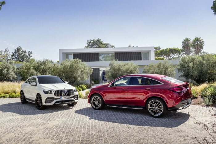 Sales release for the Mercedes-Benz GLE Coupé and Mercedes-AMG GLE 53 4MATIC+ Coupé: More luxury, more coupé: available to order now