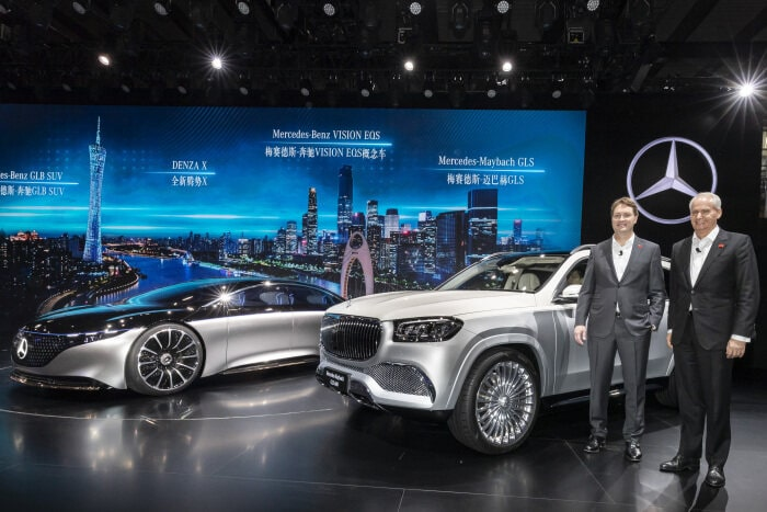 Mercedes-Benz Cars at Auto Guangzhou 2019: World premiere of the Mercedes-Maybach GLS