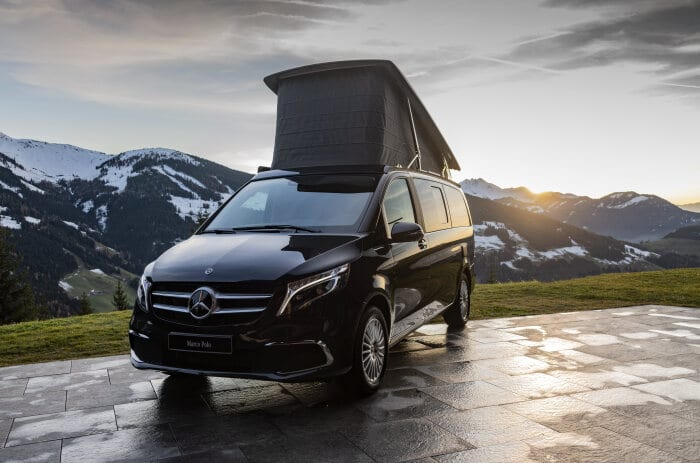 Mercedes-Benz at the 2020 Caravan, Motor and Tourism exhibition: spotlight on connectivity