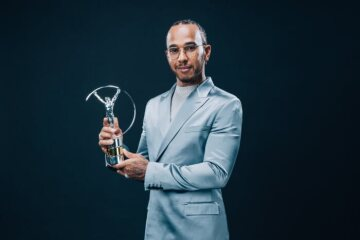 Lewis Hamilton Named Laureus Sportsman of the Year