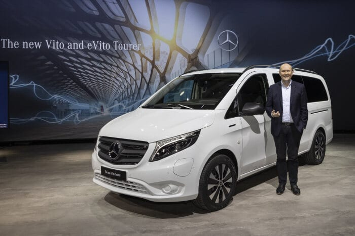 Mercedes-Benz Vans: Transformation into a sustainable future