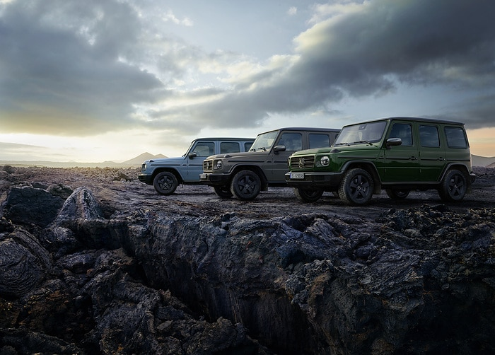 Update makes Mercedes-Benz G-Class even more desirable: Iconic off-road vehicle with more equipment and scope for greater personalisation available to order now