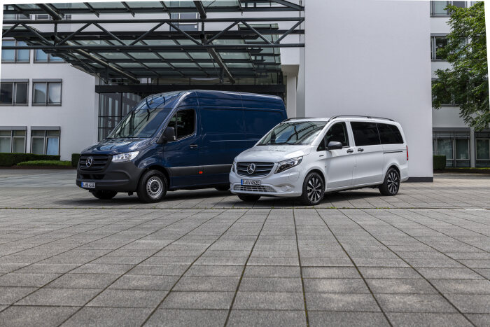 "Mercedes-Benz Vans: product highlights 2020 and ""50 years of van competence"""