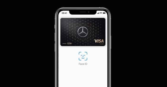 Mercedes Credit Card jetzt mit Apple Pay