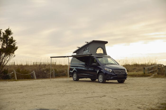 Mercedes-Benz Vito captures the U.S. Vanlife scene