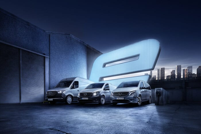 Mercedes-Benz Bank offers insurance especially for electric vans