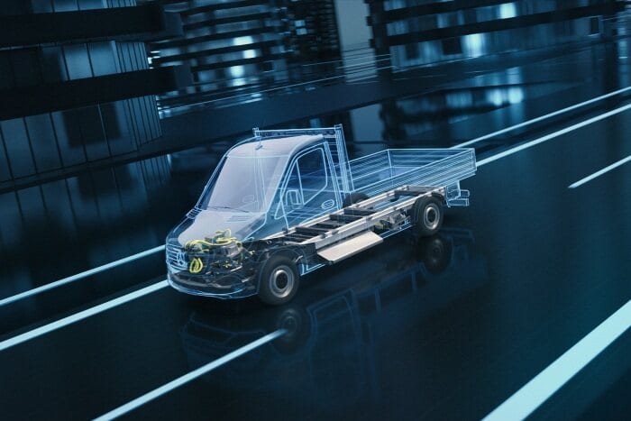 "Mercedes-Benz Vans announces next-generation eSprinter based on newly developed  ""Electric Versatility Platform"""