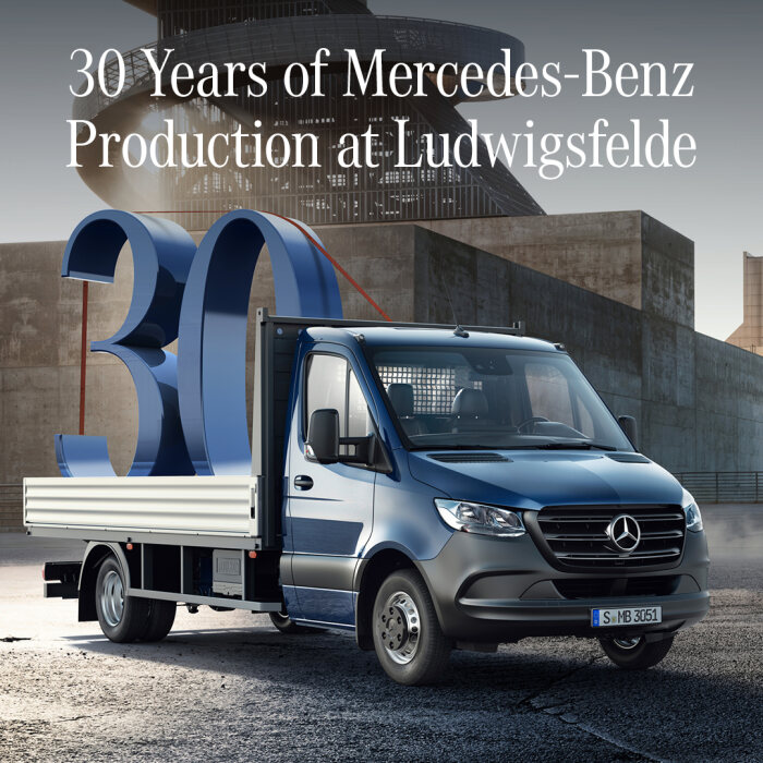 30 years under the banner of the three-pointed star – Mercedes-Benz plant in Ludwigsfelde celebrates a special anniversary