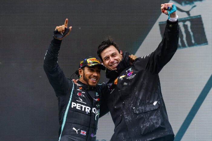 Mercedes-AMG Petronas F1 Team and Lewis Hamilton agree new contract for 2021