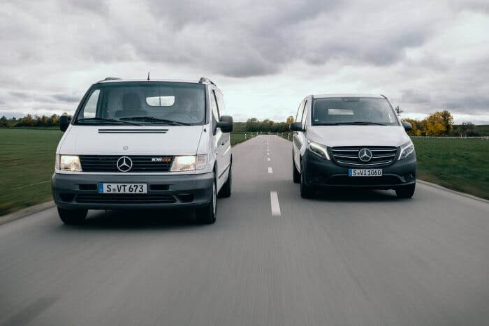 Yet another safety feature to mark the anniversary: A reliable partner for 25 years: the Mercedes-Benz Vito