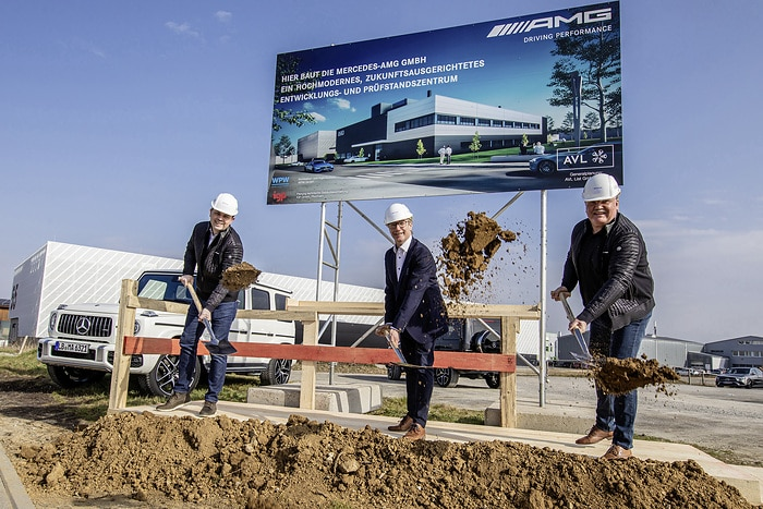 Groundbreaking for state-of-the-art test centre of Mercedes-AMG GmbH in Affalterbach