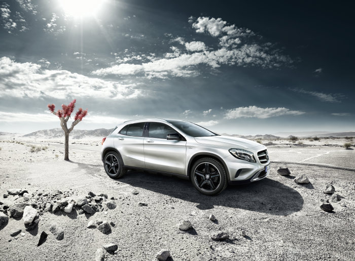Exclusive model joins market launch line-up: The Mercedes-Benz GLA to launch with Edition 1 model too