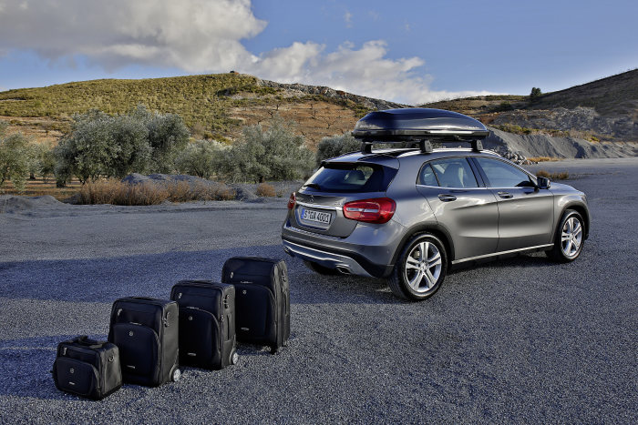 Genuine Accessories and Collection for the Mercedes-Benz GLA: Adding to the versatility of a multi-talented vehicle