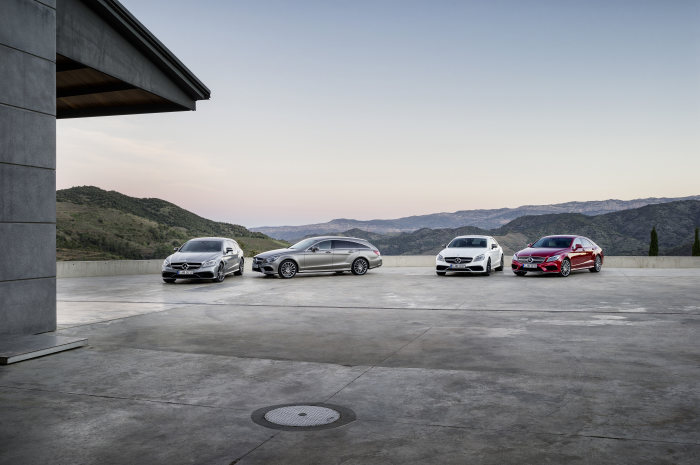 New C-Class Estate and new generation CLS-Class: Intense driving pleasure and modern luxury