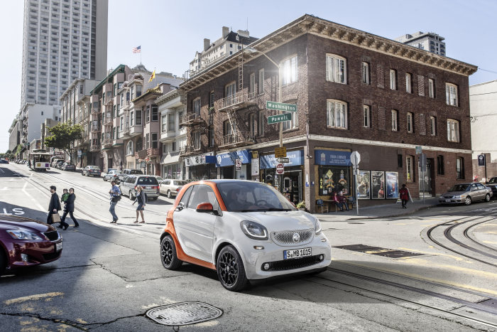 US premiere for the new smart generation at the NYIAS: 2015: smart is upping the ante