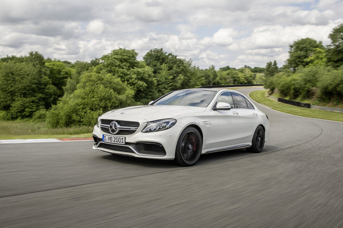 The new Mercedes-AMG C 63: Powerful High-Performance Athlete