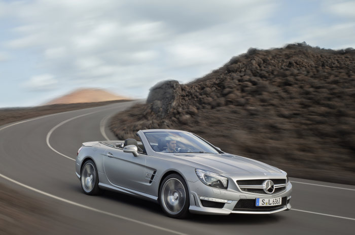 The new Mercedes-Benz SL 63 AMG: Enhanced performance, reduced weight and lower consumption