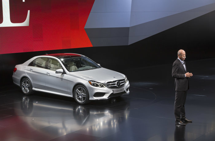 Mercedes-Benz at NAIAS – World premiere of the new E-Class: Barrage of New Products for 2013 in Detroit