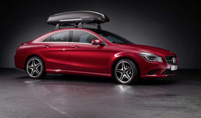 Genuine Accessories for the new CLA: Sporty, original and practical