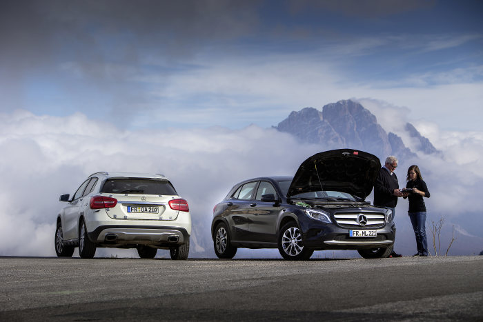 Endurance testing at Mercedes-Benz: putting the new GLA well and truly through