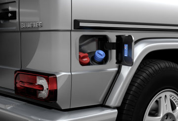 G 350 BlueTEC with state-of-the-art emission-control technology: A true classic