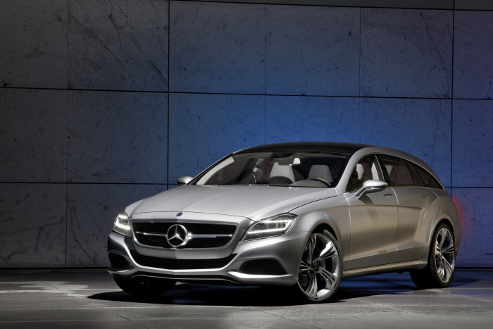 Decision for serial production: CLS Shooting Brake will be built in the Mercedes-Benz Plant Sindelfingen