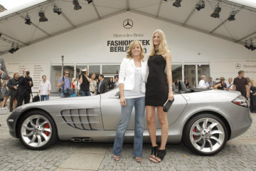 Mercedes-Benz Fashion Week Berlin started with a bang: Julia Stegner and Susie Stoddart delighted by South African and Argentinean fashions