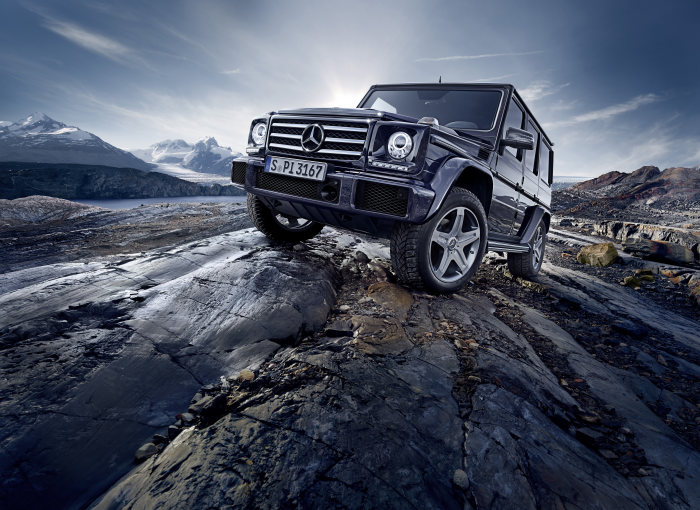 Mercedes-Benz G-Class: Makeover for an off-road icon