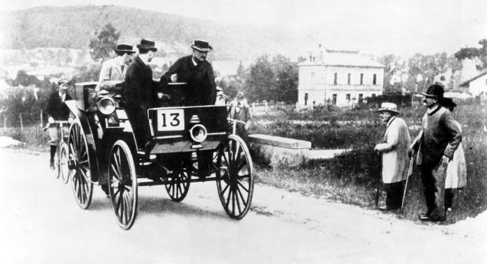 1888: Start of Benz sales in Germany and abroad