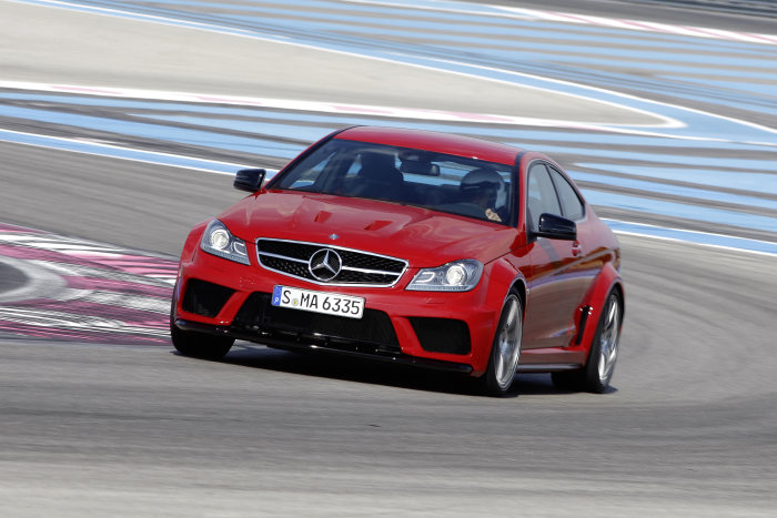 The new Mercedes-Benz C 63 AMG Coupé Black Series: The most powerful C-Class of all time