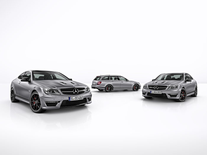 C 63 AMG: some 40,000 vehicles sold worldwide - The C-Class from AMG: a success story with eight cylinders