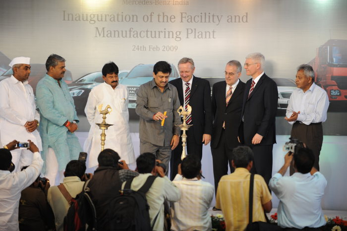 Mercedes-Benz Inaugurates New Manufacturing Plant in Pune, India