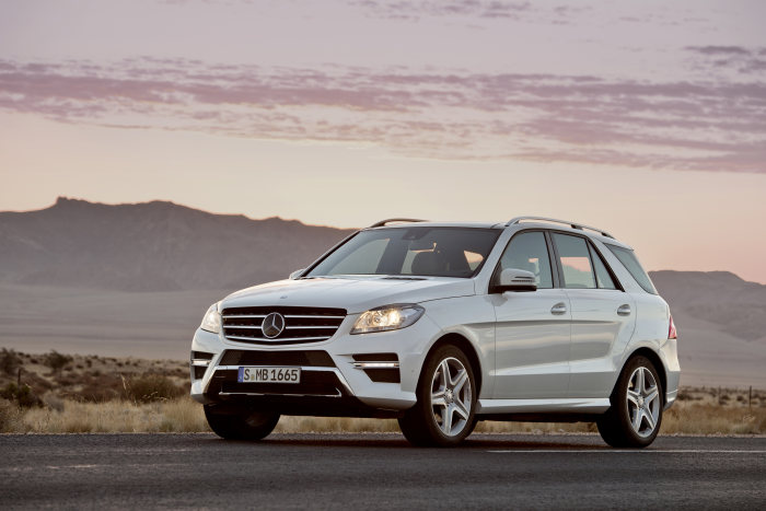 The new Mercedes-Benz M-Class: Champion of refined efficiency