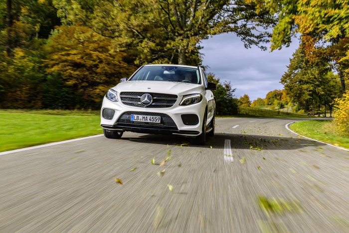 The new GLE 450 AMG 4MATIC - Third sports model from AMG: dynamic SUV for new target groups