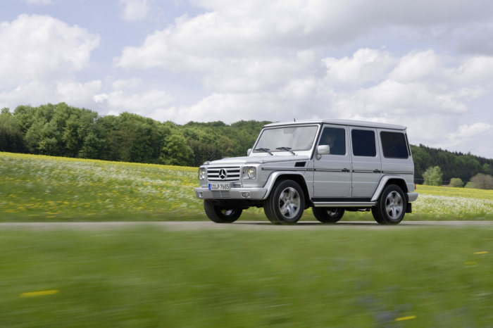 Targeted upgrade for the G 55 AMG: Classic with Added Appeal
