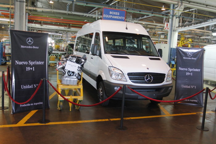 Daimler Continues Growth as Production of Mercedes-Benz Sprinter Begins in Argentina