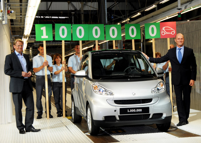 smart electric drive continues the ten year smart success story