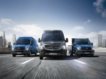 The new Mercedes-Benz Sprinter - Mercedes-Benz Sprinter: Now even safer, greener, more economical, and more attractive
