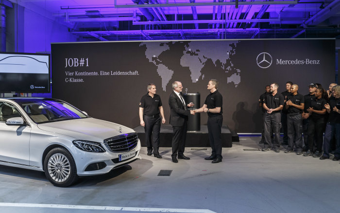'Four continents. One passion.' - Production of the New C-Class Starts at the Mercedes-Benz Bremen Plant