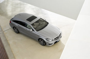 CLS 63 AMG Shooting Brake: The performance trendsetter