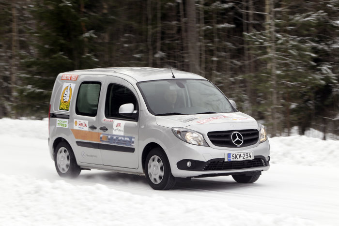 Mercedes-Benz Citan, Vito, and Sprinter successful in winter tests: Vans with the Star in the Ice Age: Two victories in the Arctic Van Test; successful completion of endurance Test in Alaska