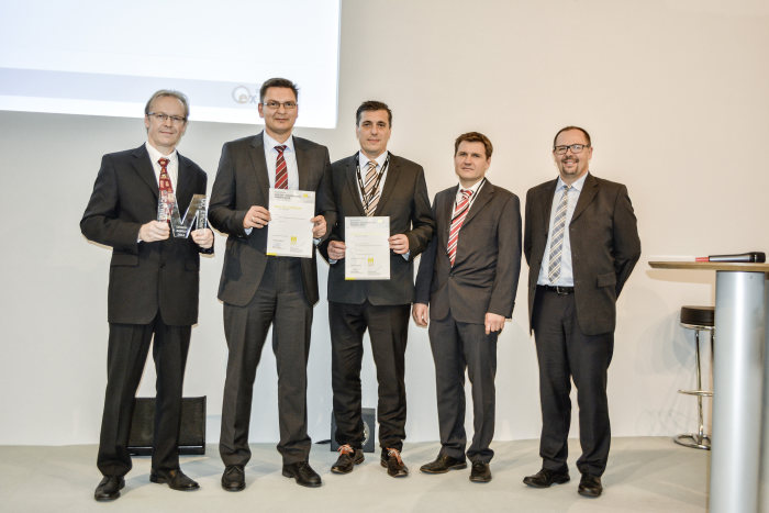 High-tech pistons and ultra-high-strength CFRP technology: Double victory for Mercedes innovations at MATERIALICA 2014