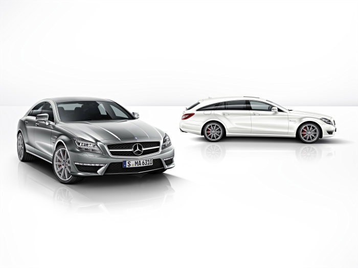Mercedes-Benz CLS 63 AMG: performance, dynamism and efficiency - The new benchmark: CLS 63 AMG as S-Model and with 4MATIC