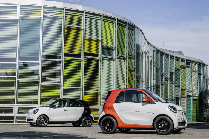 Prices start at less than €11,000: At the starting line: the new smart generation