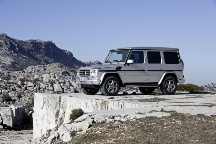 """OFF ROAD"" reader survey picks off-road vehicle of the year 2014: G-Class is voted off-road vehicle of the year 2014"