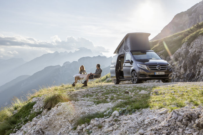 Mercedes-Benz at the Düsseldorf Caravan Salon:  Marco Polo and Marco Polo ACTIVITY - the new compact camper vans and recreational vehicles