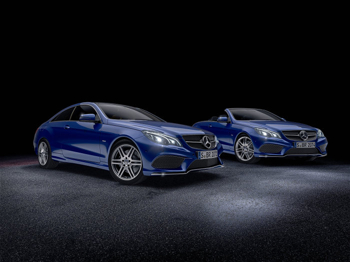 Two new special models: E-Class Coupé and Cabriolet for connoisseurs and aficionados