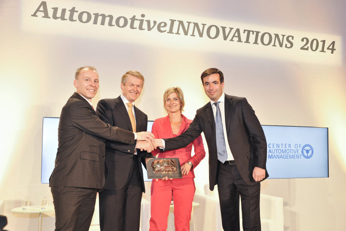 AutomotiveINNOVATIONS Award 2014: Mercedes-Benz is the most innovative