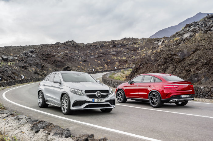 Sales release of the Mercedes-Benz GLE Coupé: A sportier choice